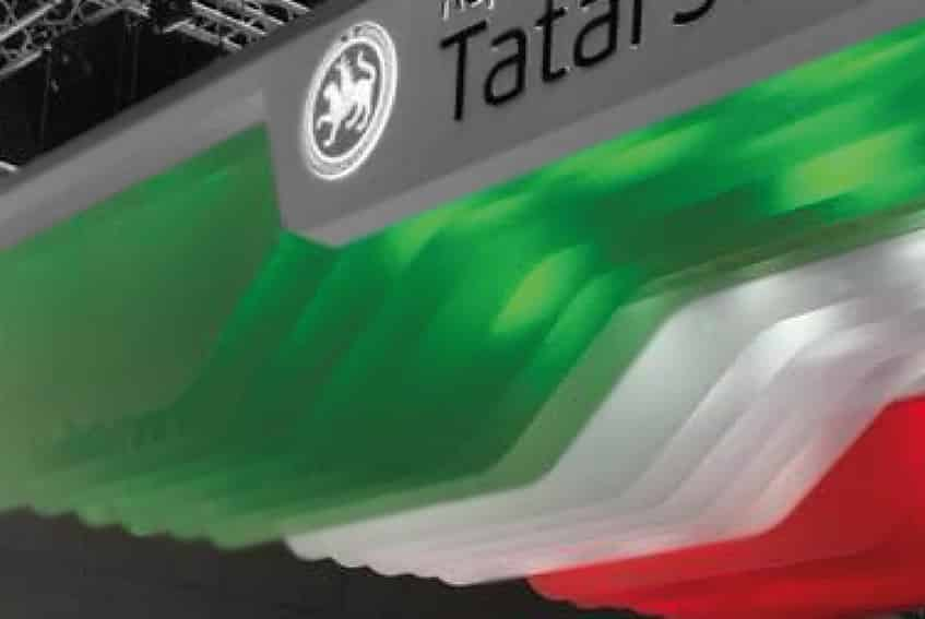 04_grafika targowa podwiesie docięte do kształtu flaga