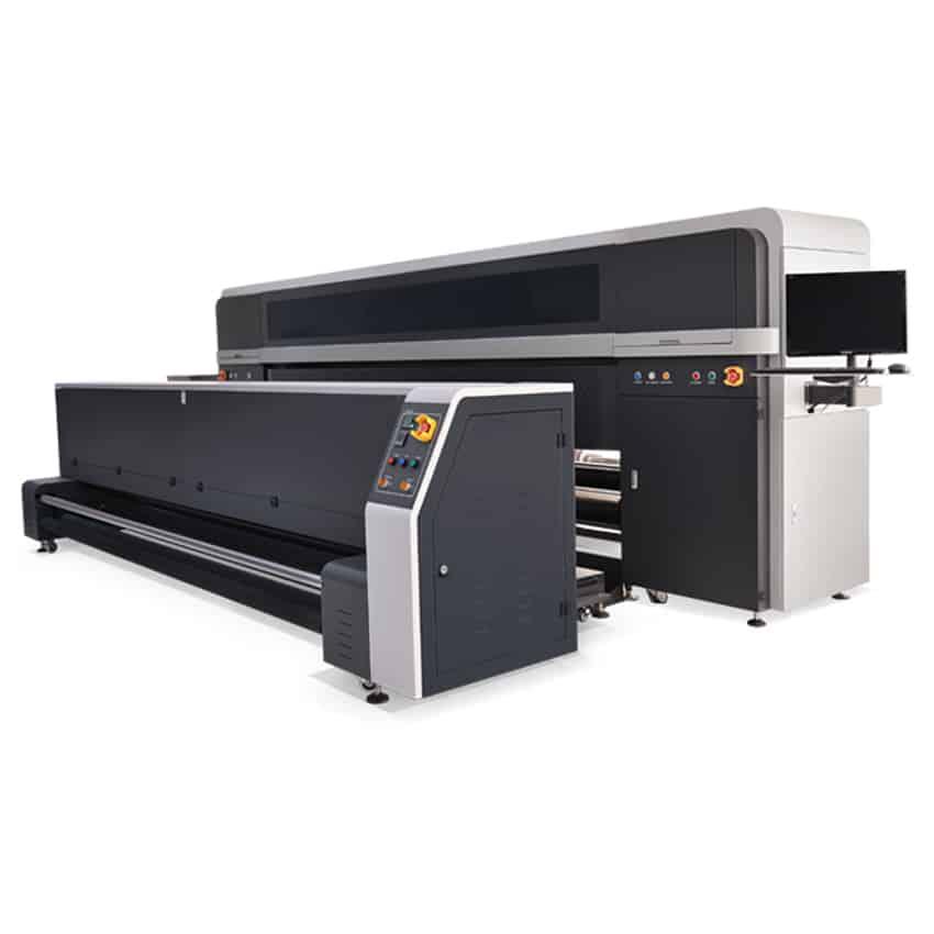 Ploter drukujący w technologii sublimacji bezpośredniej.